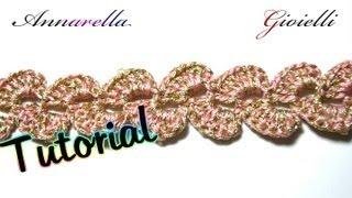Tutorial Uncinetto Bracciale Per Mercatino Crochet
