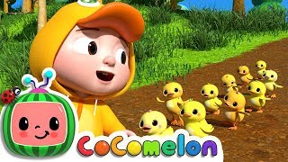Ten Little Duckies (A Counting Song) | ABCkidTV Nursery Rhymes & Kids Songs