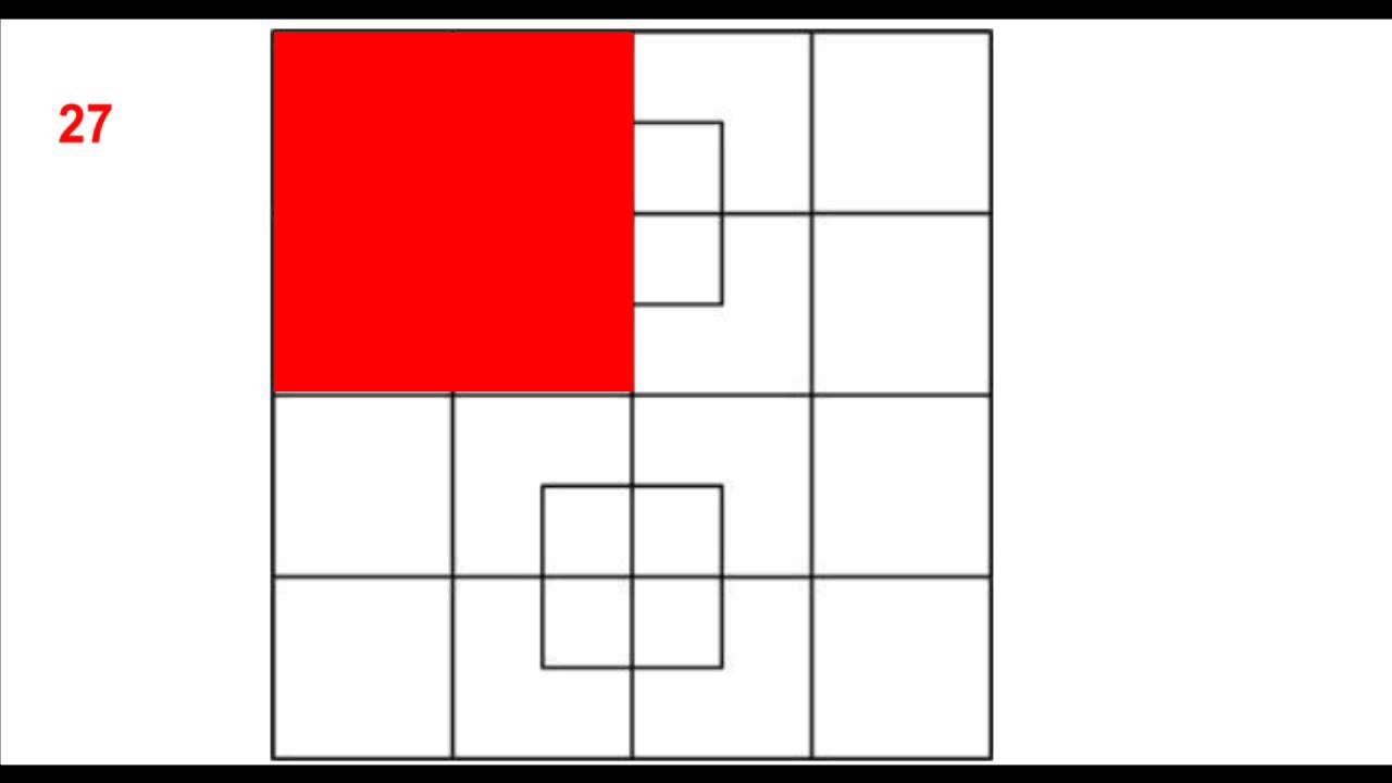 how to solve a super square 1