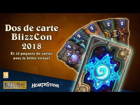 BlizzCon 2018 : découvrez les objets bonus en jeu pour Hearthstone !