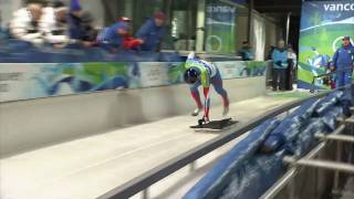 Men's Skeleton Run 3 And 4 Complete Event Vancouver