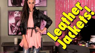Fall Fashion Leather Jackets! How To Style A Leather