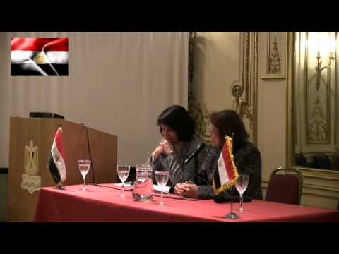 Talks in London about the new 2013 Egyptian Constitution  by Dr Mona Zolfakar and Dr Hoda El Saad