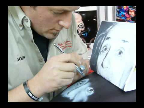 Motorcycle Custom Airbrushing - Albert Einstein