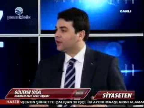 DP Genel Başkanı Gültekin Uysal Pamukkale TV'de