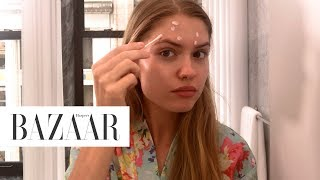 Model Alexandria Morgan's Nighttime Routine | Harper's BAZAAR