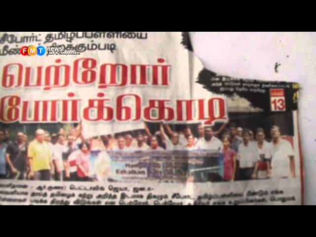 Volunteers keep Seaport Tamil school going