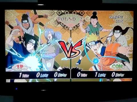 Naruto: Ultimate Ninja Storm - Sasuke vs. Naruto (2 rounds)