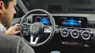 Mercedes A-Class (2018) High-Tech Interior. YouCar Car Reviews.