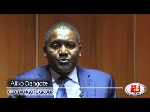Meet Dangote, Africa's richest man