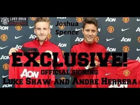 Manchester United sign Ander Herrera & Luke Shaw - REACTION -