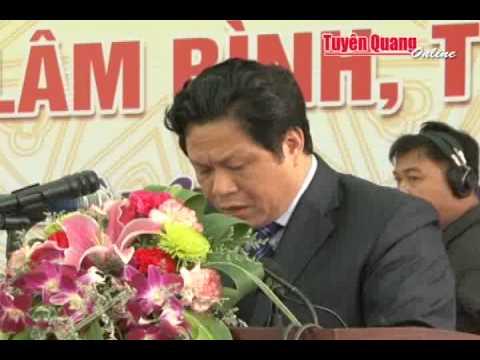 Cong bo thanh lap huyen Lam Binh, tinh Tuyen Quang