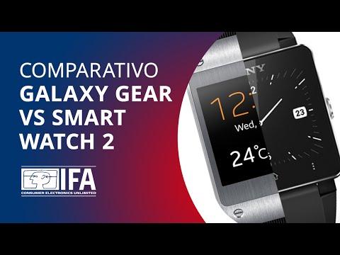 IFA 2013: Comparativo Samsung Galaxy Gear vs. Sony SmartWatch 2, quem leva a melhor na nova batalha?