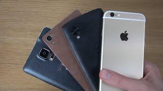 Samsung Galaxy Note 4 Vs. Sony Xperia Z3 Vs. Nexus 5 Vs