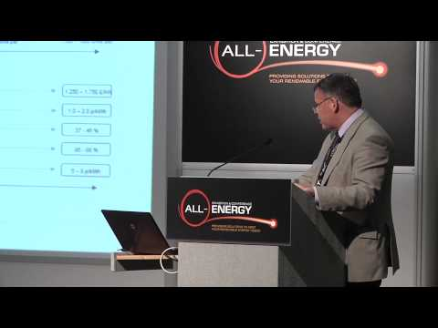 Dr Stuart Bradley, Strategy Manager for Offshore Renewables, ETI at All-Energy 2014