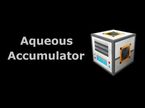 Aqueous Accumulator (Tekkit/Feed The Beast) - Minecraft In Minutes