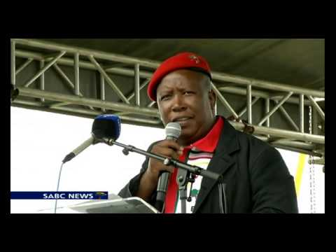 Julius Malema, took a swipe at the ANC
