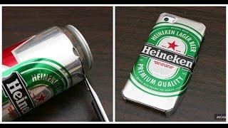 Cómo hacer un case de tu cerveza favorita usando la lata