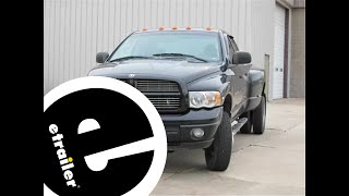 Trailer Brake Controller Installation 2005 Dodge Ram