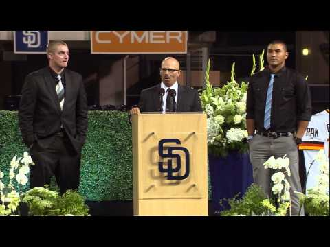 SDSU ATHLETICS: TONY GWYNN MEMORIAL - MARK MARTINEZ REMEMBERS COACH - 6/26/14