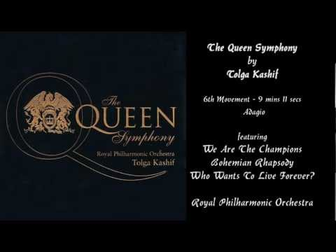 TOLGA KASHIF - The QUEEN Symphony - An Anthology of the Works of Freddy Mercury.