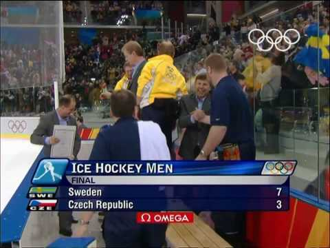 Kazakhstan vs Sweden - Men's Ice Hockey - Turin 2006 Winter Olympic Games