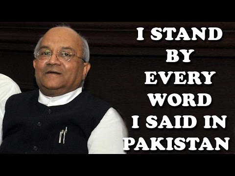 VP Vaidik: Kashmir should be 'Azad'