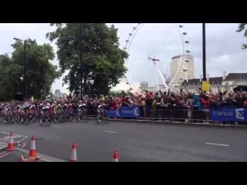 Tour de France 2014 London Eye Giant Kittel win