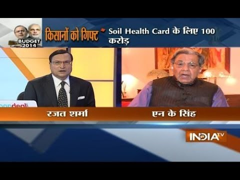 Former Finance Secretary  N. K. Singh speaks with India TV exclusively on Budget