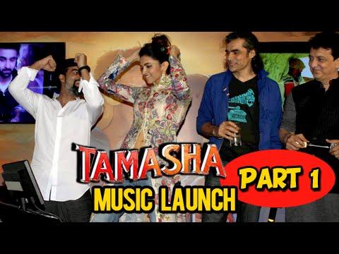 Deepika Padukone Ranbir Kapoor Have Fun At TAMASHA Music Launch | Part 1