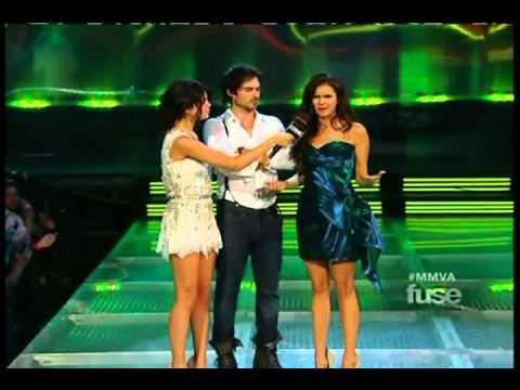 Nina Dobrev and Ian Somerhalder at the 2011 MMVA