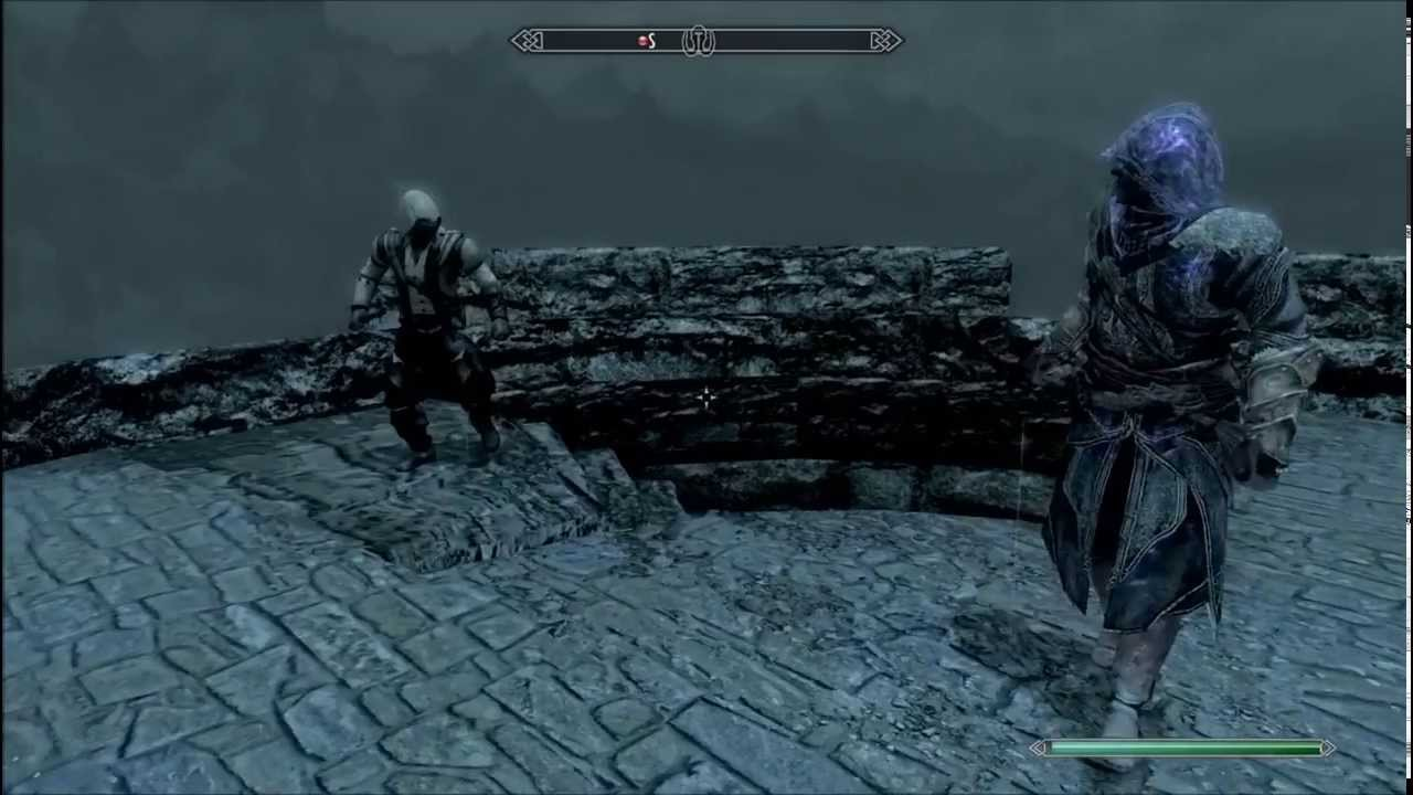 Battles In Skyrim Conn...