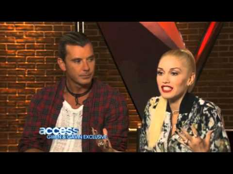 Gwen Stefani and Gavin Rossdale - Access Hollywood Interview (7/14/2014)