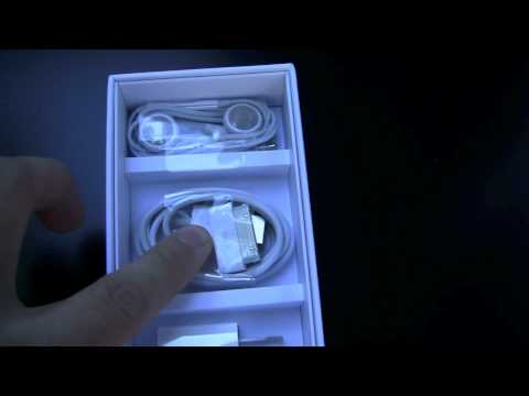 Apple iPhone 4S unboxing video