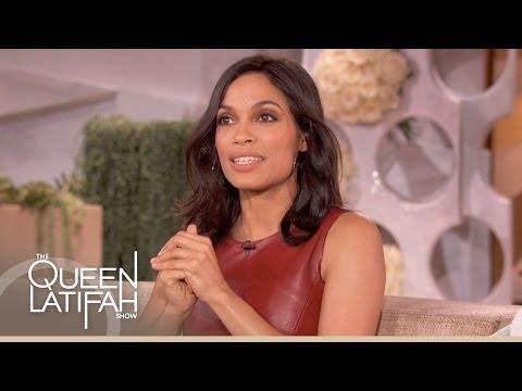 Rosario Dawson on The Queen Latifah Show