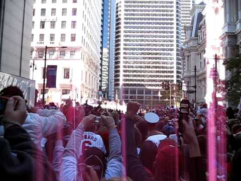 Phillies Parade - Penn Square