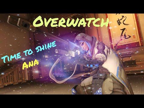 Overwatch: Ana Gameplay