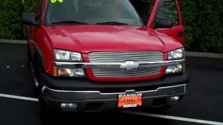 2004 Chevrolet Silverado 1500 Extended Cab 4X4 Red - Art Gamblin Motors - Tim Smitty Smith - V2022 videos