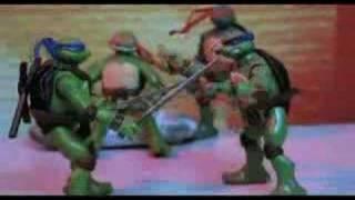 """Animação Stop Motion """"As Tartarugas Ninjas"""""""