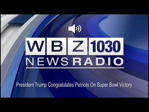 President Trump Congratulates Patriots On Super Bowl Victory (Audio)
