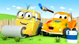 Steve je Mimoň - Mesto aut