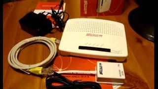 Modem Router Telecom 2012 Technicolor ADSL 2+ Wi-Fi N 20