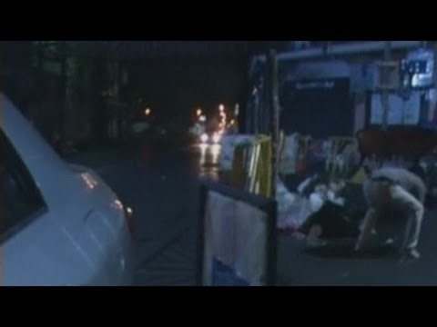 Dramatic footage as gunmen open fire on Thai protesters