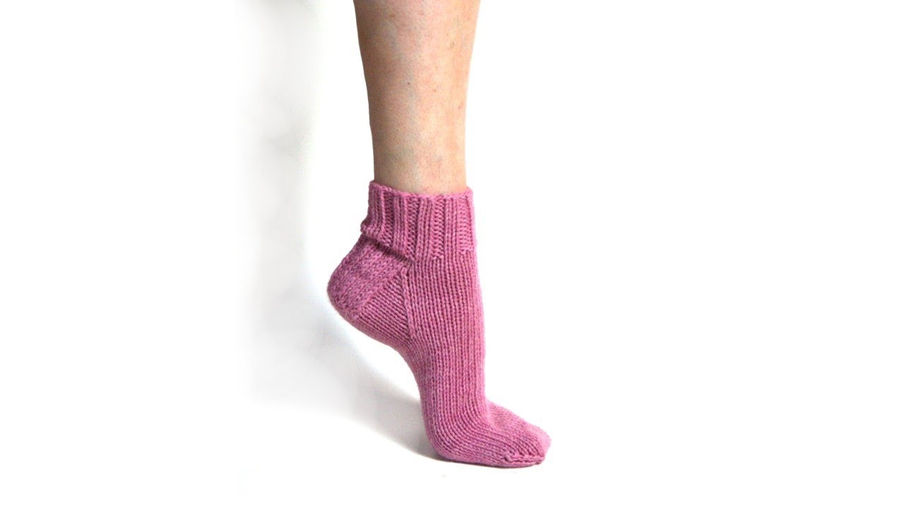 Learn to Knit Socks - v e r y p i n k . c o m - knitting ...