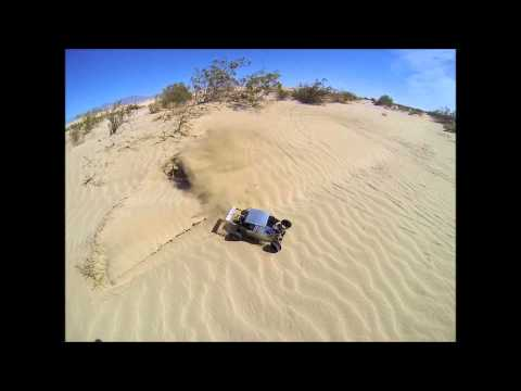 Custom built rc sand rail