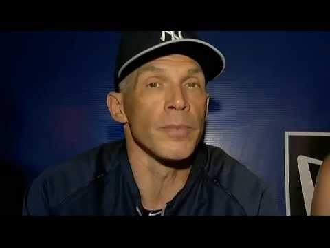New York Yankees manager Joe Girardi on past success against Mark Buehrle
