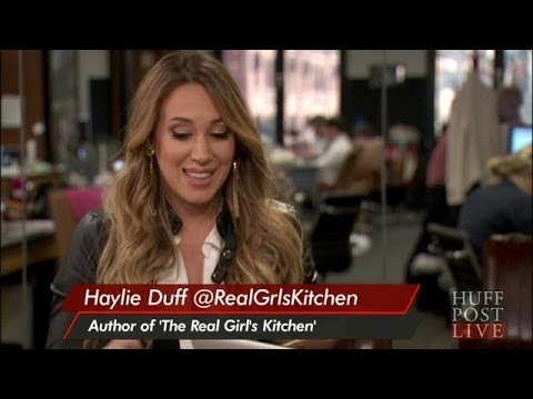 Haylie Duff Talks Cooking With Hilary | HPL