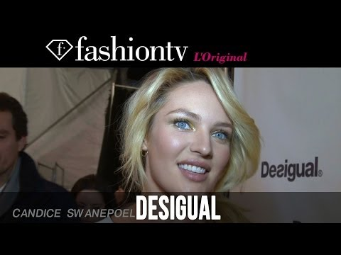 Desigual Fall/Winter 2014-15 Backstage ft Candice Swanepoel | New York Fashion Week NYFW | FashionTV