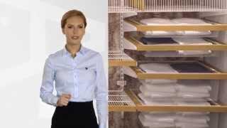 Системы ARISTO (шкафы-купе, гардеробные, стеллажные, подвесные двери) в типовой квартире.