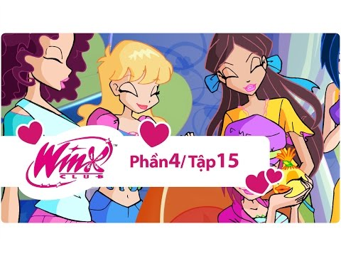 Winx Club - Phần 4 Tập 15 - Bài học phép thuật - [trọn bộ]